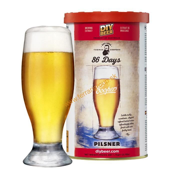 Coopers 86 Days Pilsner (1,7kg)