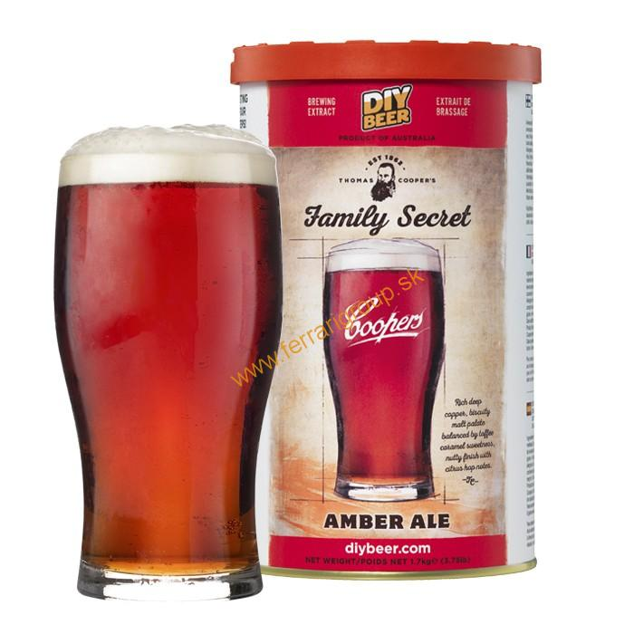 Coopers Family Secret Amber Ale (1,7kg)