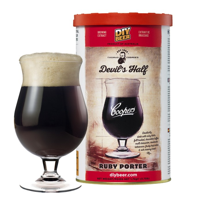Coopers Devil's Half Ruby Porter (1,7kg)
