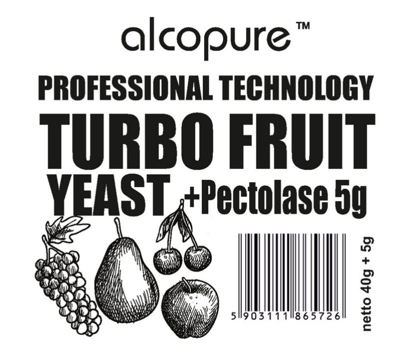 Kvasinky - TURBO FRUIT Professional (45g)
