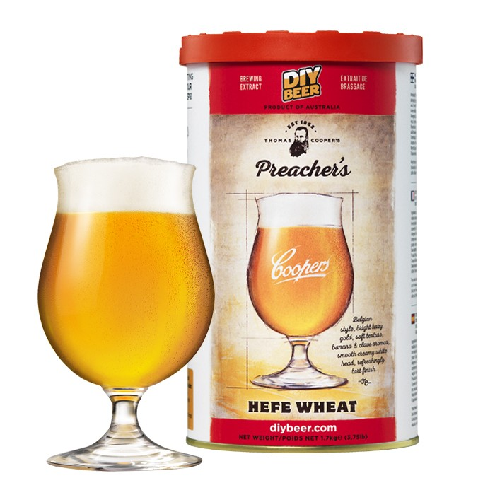 Coopers Preacher's Hefe Wheat (1,7kg)