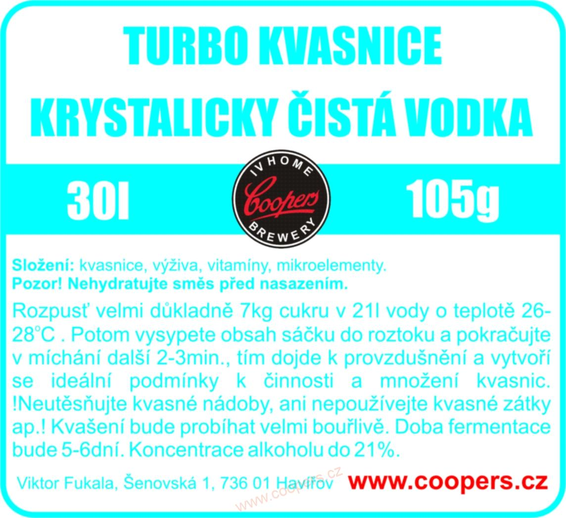 Kvasinky - Vodka Pure  (105g)